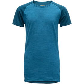 Devold Breeze T-Shirt Juniors Blue